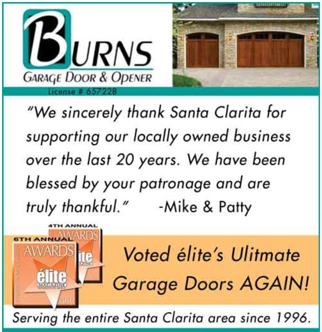 Burns Garage Door Repair Santa Clarita